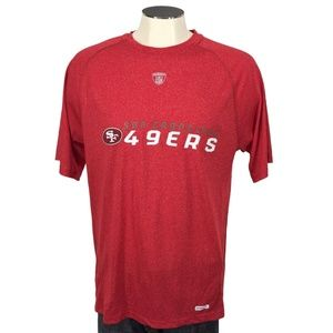 San Francisco 49ers Reebok Training Crewneck Shirt